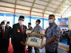 Hadir pada Perayaan HUT Pinrang, Nurdin Abdullah Ajak Masyarakat Sukseskan Program Vaksinasi COVID-19