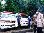 Jepang Hibahkan 13 Ambulans dan Damkar untuk Pemprov Sulsel