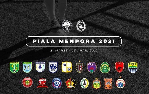Diikuti 18 Klub, Ini Pembagian Grup dan Lokasi Laga Piala Menpora 2021