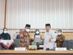 Bupati Fahsar Serahkan Ranperda Perubahan RPJMD Bone 2018-2023