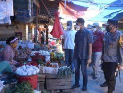 Pastikan Harga Kebutuhan Pokok Tetap Stabil, Bupati ASA Tinjau Pasar Sentral Sinjai