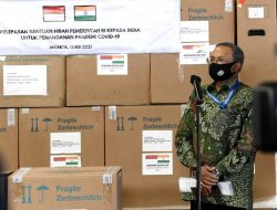Indonesia Kirimkan Bantuan Hibah untuk Penanganan Covid-19 di India