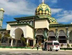 Hindari Klaster Baru Covid-19, Sebanyak 30 Masjid di Maros Disemprot Disinfektan