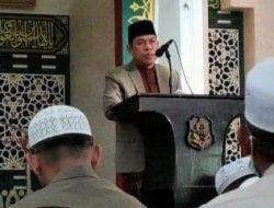 Kepala Kemenag Sidrap jadi Khatib di Masjid Agung Pangkajene, Singgung Manfaat Puasa Selama Pandemi