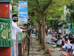 Salat Id di Amirullah, Wali Kota Makassar Halalbihalal dengan Salam Namaste