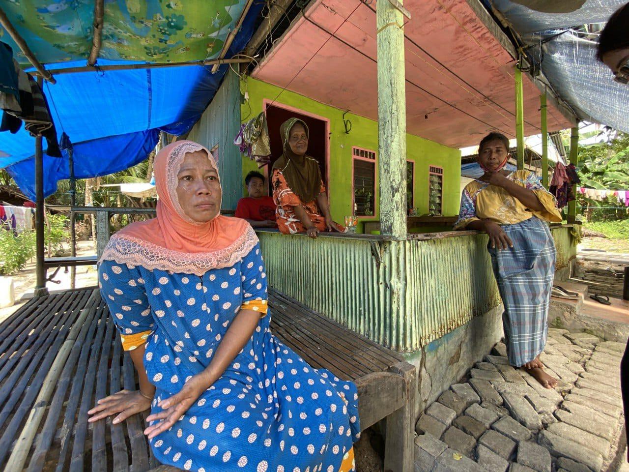 air bersih warga pulau makassar