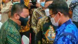 Bupati Selayar Hadiri Kunker Menparekraf Sandiaga di Makassar
