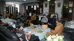 Bahas Kelanjutan Kerjasama Penelitian dan Pengabdian, LP2M Unhas Kunjungi Kabupaten Sidrap