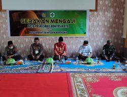 Wabup Selayar Resmi Launching Gerakan Mengaji di UPT Puskesmas Bontosikuyu