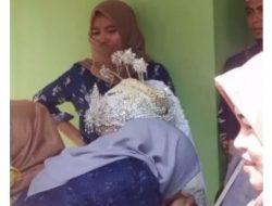 Viral di Medsos, Wanita Nangis Terisak-isak saat Melihat Suaminya Menikah Lagi