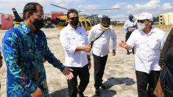 Dampingi Menteri Trenggono, Wali Kota Makasssar Sampaikan Untia Pelabuhan Potensial