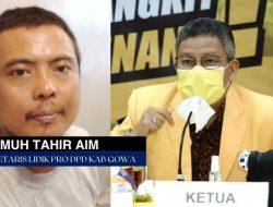 Sekretaris Lidik Pro Gowa : Taufan Pawe Miliki Potensi Jadi Calon Gubernur Sulsel