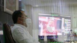 Wali Kota Makassar Hadiri Peringatan HAN 2021 secara Virtual Bersama Presiden Jokowi