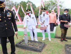 Bupati Soppeng Hadiri Acara Ziarah Nasional di Taman Makam Pahlawan