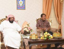 Bupati Kaswadi Razak Terima Kunjungan Penasehat Duta Besar Arab Saudi untuk Indonesia di Soppeng