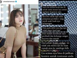 Amanda Manopo Murka Karena Kegiatannya Berziarah Diliput Tanpa Izin: Gak Semua Bisa Jadi Tontonan!