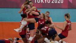 Tim Voli Putri Kembali Raih Medali Emas, AS Dipastikan Jadi Juara Utama Olimpiade Tokyo 2020