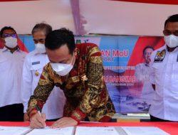 Sidrap Jadi Lokasi Dry Port untuk Wilayah Utara, Plt Gubernur Sulsel: Bantu Ekonomi Baru