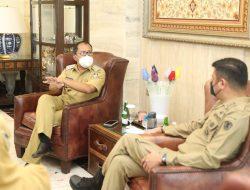 Wali Kota Makassar-Bupati Gowa Koordinasi Penyelarasan Perpanjangan PPKM