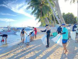 Sambut WCD Sulsel 2021, Masyarakat Pulau Gondong Bali Antusias Ikuti Aksi Bersih Terbesar di Dunia