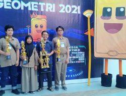 Keren, SMP Islam Athirah 1 Makassar Jadi Juara Umum Ajang GEOMETRI LCTM FMIPA UNM