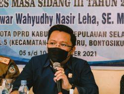 Legislator Selayar Miswar Wahyudi Nasir Leha Sukses Gelar Reses Masa Sidang ke III Tahun 2021