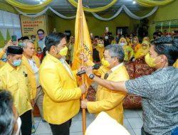 Mudassir Hasri Gani Terpilih Sebagai Ketua DPD II Partai Golkar, Taufan Pawe Ucapkan Selamat
