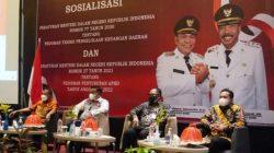 Ketua DPRD Bone Irwandi Burhan Hadiri Sosialisasi Peraturan Menteri di Makassar