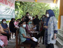 Vaksinasi Tingkat Kelurahan, Wawali Makassar Minta Ada Bilik Khusus Perempuan