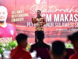 Plt Gubernur Sulsel Doakan PSM Makassar Juara Liga Indonesia
