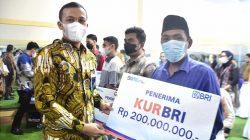 Melalui BRI, Anggota DPR RI dari Gerindra Ini Berikan Bantuan Modal UMKM