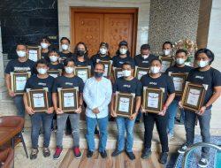 Berhasil Ungkap Kasus Pencurian di Balai Kota, Unit Jatanras Polrestabes Dapat Pengharaan dari Wali Kota Makassar