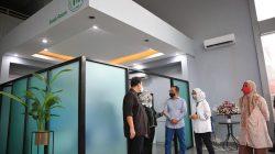 Wali Kota Makassar Resmikan Swab House, Beli Tiket Langsung Swab